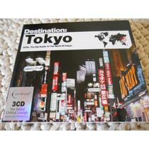 Destination Tokyo 3 Cd Musica Lounge Sonidos Japón