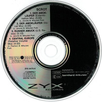 Cd Original Maxi Single Scrot Der Amoklaufer Runner Amuck