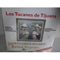 Los Tucanes De Tijuana 20 Exitos Personalidaddes Cd Nuevo