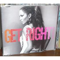 Jlo Jennifer Lopez Get Right Cd Single Promo Mexicano 2005