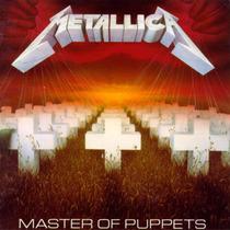 Metallica - Master Of Puppets Lp Nuevo Thrash Metal Megadeth
