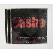 Sasha Lo Mejor De Sasha Cd Original Mexicano 2002