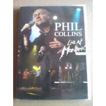 Phil Collins Live At Montreux 2004 2 Dvd Set Nuevo Imp, Usa