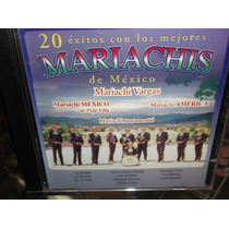 20 Exitos Con Los Mejores Mariachis De Mexico Cd Nuevo