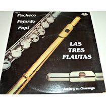 Lp Fajardo Pacheco Y Pupy Las Tres Flautas Fania Records