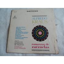 Alfredo Kraus Tenor Romanzas De Zarzuela/ Lp Nuevo