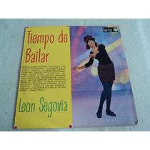 León Segovia Y Su Órgano Tiempo De Bailar/ Lp Vinil Acetato