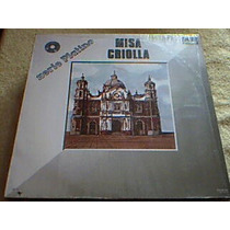 Disco Lp Misa Criolla - Serie Platino - Los Fronterisos -