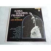 Maria Dolores Pradera & Los Gemelos Pesares/lp Vinil Acetato