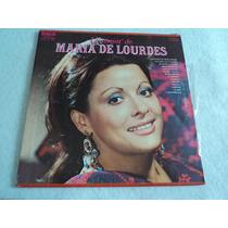 Maria De Lourdes Lo Mejor Álbum Triple/ 3 Lp Vinil Acetato