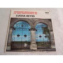 Lucha Reyes Canciones Mexicanas / Lp Acetato Vinil