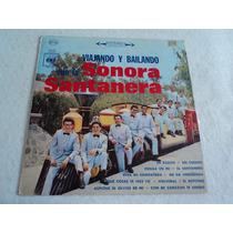 Sonora Santanera Viajando Y Bailando / Lp Vinil Acetato