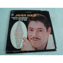 Javier Solis Álbum Triple Éxitos / 3 Lp Vinil Acetato