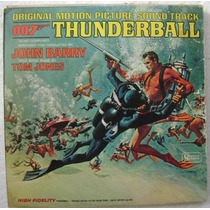 007 Thunderball / Original Sound Track 1 Disco Lp Vinilo