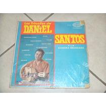 Discos Acetato Daniel Santos Y La Sonora Mexicana