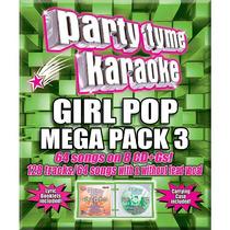 Party Tyme Karaoke: Chica Pop Mega Pack 3 Cd (cd + G)