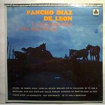 Pancho Diaz De Leon Y Halcones Saltirillo Lp Norteño Nuevo