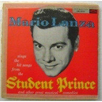 Mario Lanza / Student Prince 1 Disco Lp Vinilo