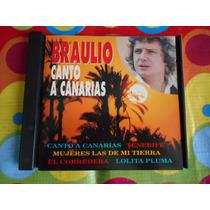 Braulio Cd Canto A Canarias Importado