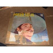 Acetato Javier Solis Con El Mariachi Perla De Occidente