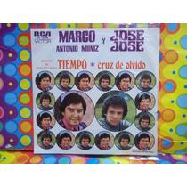 Jose Jose Lp 45 Rpm Cruz De Olvido 1975 Y Marco Antonio Muñi