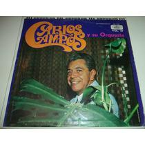 Lp Carlos Campos Y Su Orquesta