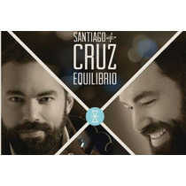 Santiago Cruz / Equilibrio / Disco Cd Con 14 Canciones