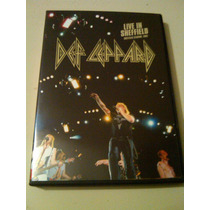Def Leppard Live In Sheffield Stadium 1983 Dvd Imp. Alemania