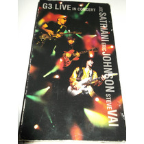 G3 Vhs Satriani Vai Johnnson Live In Concert Yngwie