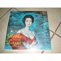 Disco Acetato Groria Lasso Orquesta De Frank Pourcel