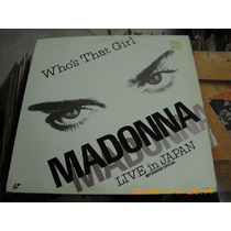 Madonna Laser Disc De 12 Whos That Girl Live In Japan