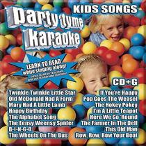 Party Tyme Karaoke Cd Canciones Infantiles