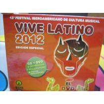 Vive Latino 2012 Cd + Dvd Nuevo Edicion Especial