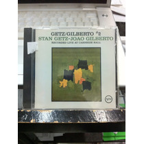 Stan Getz João Gilberto 2 Live At Carnegie Hall Cd Nuevo Im