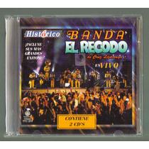 Banda El Recodo Historico En Vivo 2 Cds 1a Ed Titanio 1997