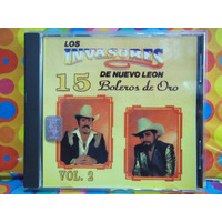 Los Invasores De Nuevo Leon Cd 15 Boleros De Oro Vol.2 1996