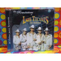 Banda Los Tucanes De Tijuana Cd Las Romanticas 2002