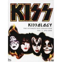 Kissology Vol 1 , 2 , 3 1974 - 2000 Coleccion En Discos Dvd