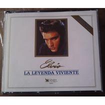 Elvis Presley La Leyenda Viviente Boxset De 5 Cds Ed 1995