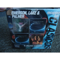 Emerson, Lake & Palmer Recupera Tu Clasicos 4 Álbumes Nuevo