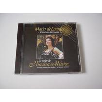 María De Lourdes Cd Canción Mexicana - Lo Mejor - 2001