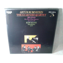Artur Rubinstein The Guarneri Quartet Brahms Schumann 3 Lps