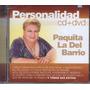 Personalidad Paquita La Del Barrio Cd + Dvd. Nuevo Original