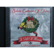 Schola Cantorum Of Texas A Gift Of Music At Christmas Cd Usa
