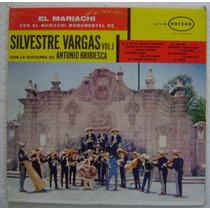 Silvestre Vargas /antonio Bribiesca 1 Disco Lp Vinilo