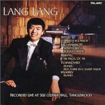Lang Lang - Recorded Live Cd Importado Piano Musica Clasica