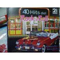 40 Éxitos Del Rock & Roll En Español. Cd Original Doble