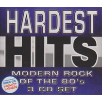 Cd Original Hardest Hits Rock Of The 80