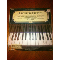 Acetato Frederic Chopin / Conciertos Para Piano Y Orquesta