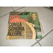 Disco Acetato Arriba!/up! Celio Gonzalez Con La Sonora Alegr